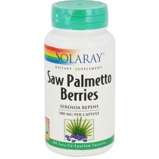 Solaray Saw Palmetto Berries 100 Capsules