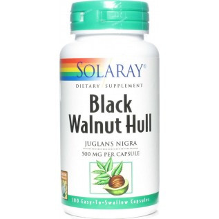 Solaray Black Walnut Hull 100 Capsules