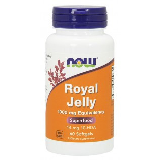 Now Royal Jelly 1000 mg 1000mg-60 Gels