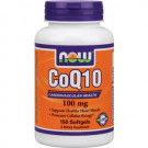 Now CoQ 10-100 mg 100mg-150 Gels